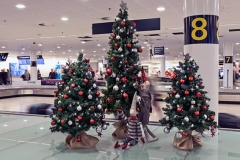 Christmas exhibition at The Copenhagen Airport in collaboration with Mikkel Sonne. Photo:Stuart Mcintyre